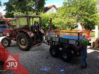 ATV přívěs Profi-dělník a malotraktor