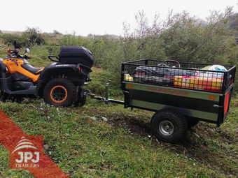 ATV příves zahradník za čtyřkolkou