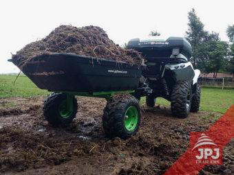 ATV vozík Pracant 300 a ATV