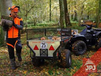 ATV vozík a pracovní čtyřkolka