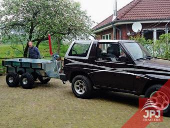 Multifunkční přívěs Profi-dělník za SUV
