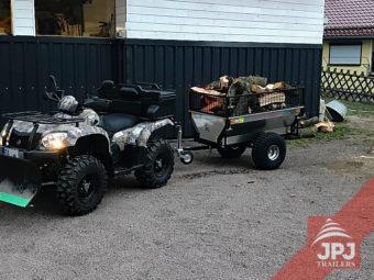vozík zahradník za pracovní čtyřkolkou