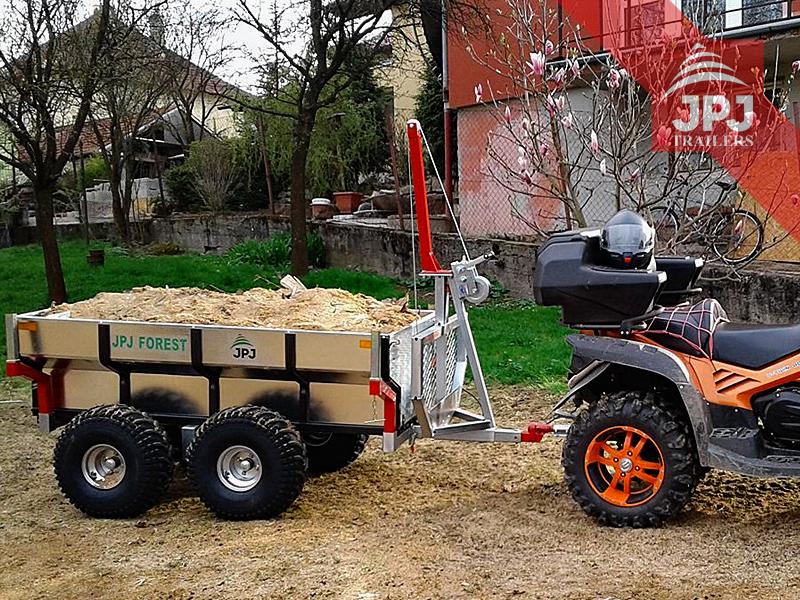 ATV Vozíky