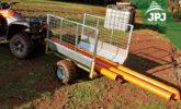 Demontovatelná čela na ATV vozíku Zahradník